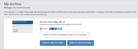 Email Newsletter Archive